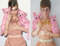 Liam Martin, Cara Delevingne - Hollywood - 10-11-2014 - Liam Martin: l'imitatore delle trash-star fa boom sul web