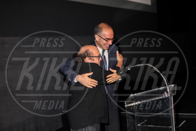Giuseppe Tornatore, Danny DeVito - Hollywood - 10-11-2014 - Presentata a LA la versione restaurata di Nuovo Cinema Paradiso