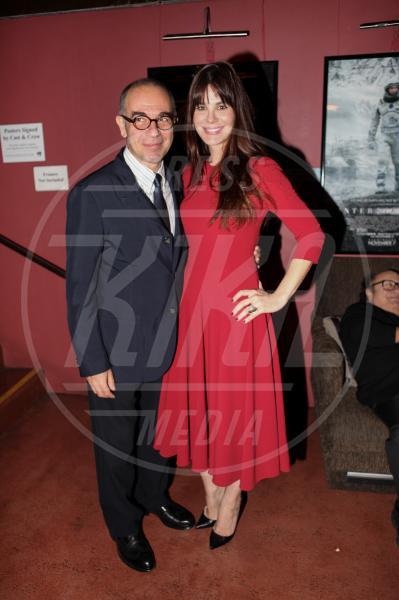 Lucila Sola, Giuseppe Tornatore - Hollywood - 10-11-2014 - Presentata a LA la versione restaurata di Nuovo Cinema Paradiso