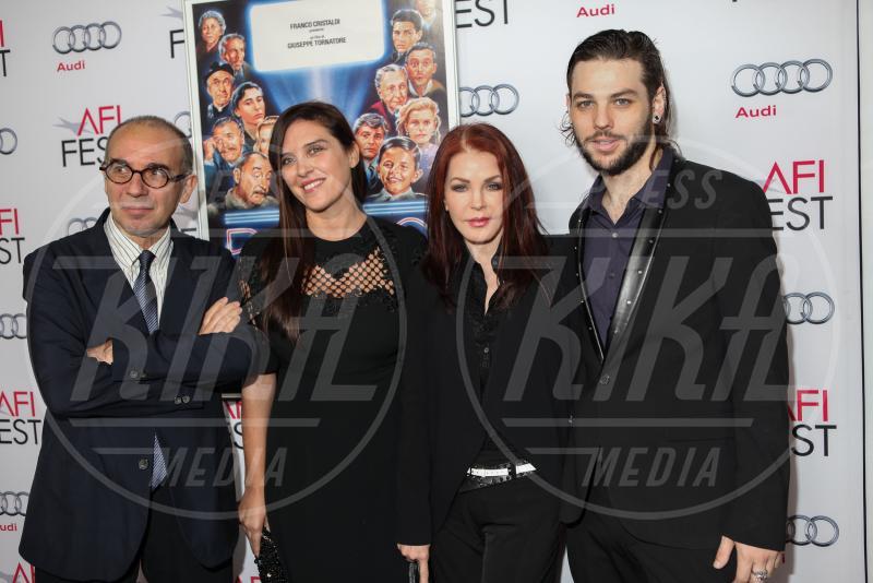Giuseppe Tornatore, Gisella Marengo - Hollywood - 10-11-2014 - Presentata a LA la versione restaurata di Nuovo Cinema Paradiso