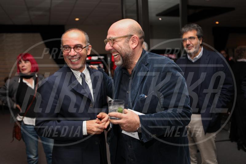 Paolo Virzì, Giuseppe Tornatore - Hollywood - 11-11-2014 - Presentata a LA la versione restaurata di Nuovo Cinema Paradiso