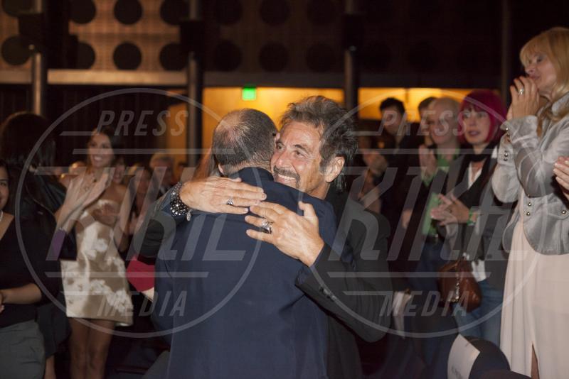Giuseppe Tornatore, Al Pacino - Los Angeles - 11-11-2014 - Presentata a LA la versione restaurata di Nuovo Cinema Paradiso