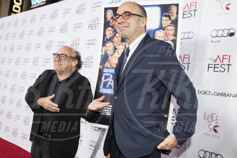 Giuseppe Tornatore, Danny DeVito - Los Angeles - 11-11-2014 - Presentata a LA la versione restaurata di Nuovo Cinema Paradiso