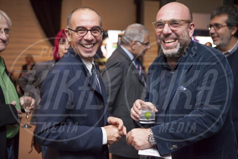 Paolo Virzì, Giuseppe Tornatore - Los Angeles - 11-11-2014 - Presentata a LA la versione restaurata di Nuovo Cinema Paradiso