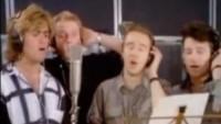 George Michael, Bono - Band Aid - 11-11-2014 - George Michael: la fotostoria di un talento purissimo
