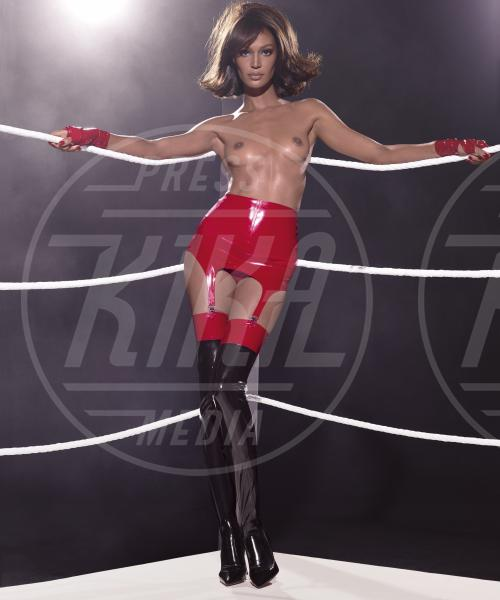 Joan Smalls - Los Angeles - 19-11-2014 - Calendario Pirelli 2015: un anno di bollori