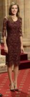 Re Felipe di Borbone, Letizia Ortiz - Oviedo - 25-10-2013 - Le celebrity? Tutte pazze per il bordeaux…