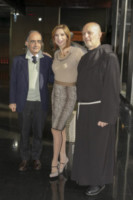 Padre Alessandro Caspoli, Veronica Maya, Giancarlo Leone - Roma - 21-11-2014 - Lo Zecchino d'Oro ha due nuovi conduttori