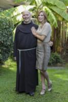Padre Alessandro Caspoli, Veronica Maya - Roma - 21-11-2014 - Lo Zecchino d'Oro ha due nuovi conduttori