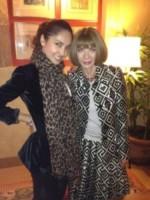 Gloria Patricia Contreras, Anna Wintour - 25-11-2014 - Gloria Contreras: da star del web all'Isola Dei Famosi