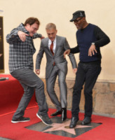 Christoph Waltz, Quentin Tarantino, Samuel L. Jackson - Hollywood - 01-12-2014 - Christoph Waltz, una stella tra le stelle sulla Walk of Fame