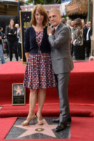Judith Holste, Christoph Waltz - Hollywood - 01-12-2014 - Christoph Waltz, una stella tra le stelle sulla Walk of Fame