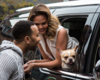 Chrissy Teigen, John Legend - New York - 02-12-2014 - John Legend acquista la villa di Rihanna a Beverly Hills