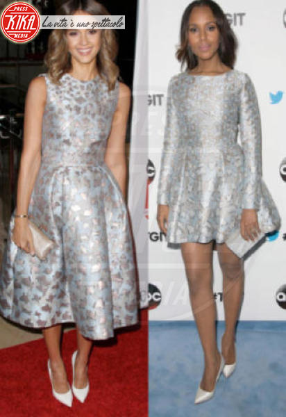 Jessica Alba, Kerry Washington - 03-12-2014 - Chi lo indossa meglio? Ecco i look brillanti per le feste!