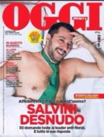 Matteo Salvini - Milano - 03-12-2014 - Elisa Isoardi e Matteo Salvini stanno insieme