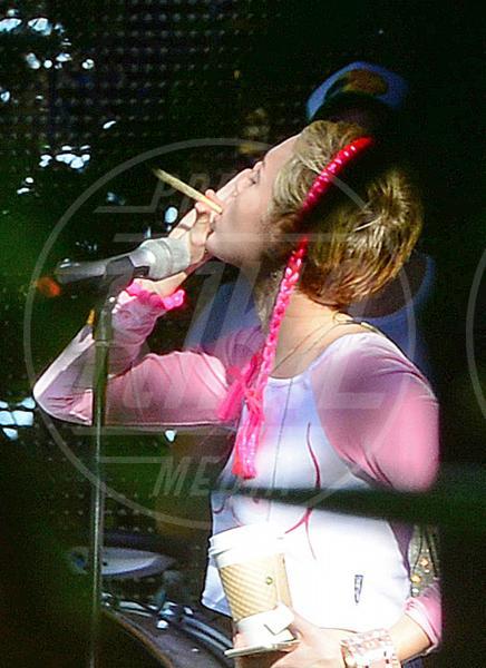 Miley Cyrus - Miami - 03-12-2014 - Tutte le star a favore della marijuana