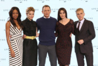 Christopher Waltz, Lea Seydoux, Naomie Harris, Daniel Craig, Monica Bellucci - Londra - 04-12-2014 - Monica Bellucci è la nuova bond girl