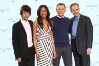 Ben Whishaw, Naomie Harris, Daniel Craig, Ralph Fiennes - Londra - 04-12-2014 - Monica Bellucci è la nuova bond girl