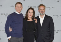 Barbara Broccoli, Sam Mendes, Daniel Craig - Londra - 04-12-2014 - Monica Bellucci è la nuova bond girl