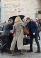 Paolo Calabresi Marconi, Alessia Marcuzzi - Roma - 04-12-2014 - Alessia Marcuzzi e Paolo Calabresi pronti per la luna di miele