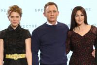 Lea Seydoux, Daniel Craig, Monica Bellucci - Londra - 04-12-2014 - Monica Bellucci è la nuova bond girl