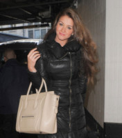 Brooke Vincent - Londra - 28-01-2014 - Le celebrity ne vanno matte: è la Celine Luggage Tote Bag!