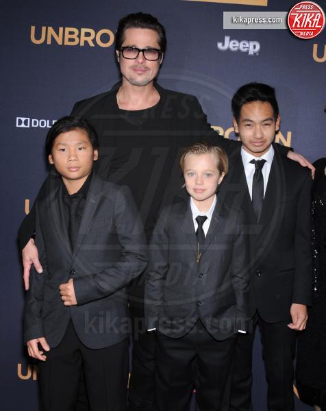 Shiloh Jolie-Pitt, Maddox Jolie Pitt, Pax Thien Jolie Pitt, Brad Pitt - Hollywood - 16-12-2014 - Da Noah Green a Shiloh Nouvel: i bambini no gender dello showbiz