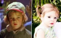 Olive Barrymore Kopelman, Drew Barrymore - Los Angeles - 18-12-2014 - Stefano e Santiago De Martino: due gocce d'acqua