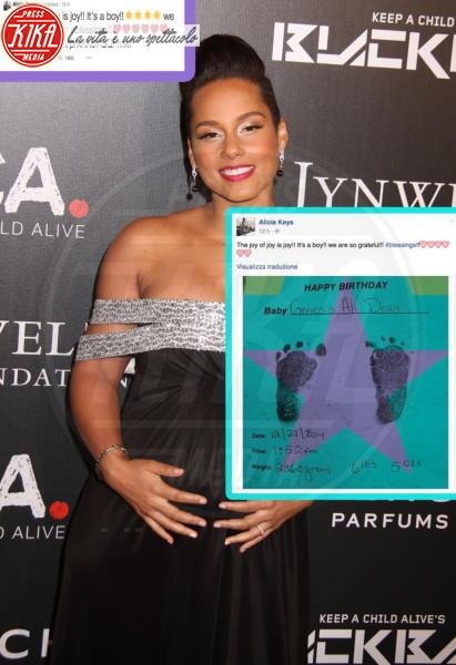 Alicia Keys - New York - 29-12-2014 - Chiamiamolo strano: i buffi nomi dei pargoli vip