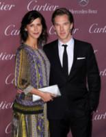 Sophie Hunter, Benedict Cumberbatch - Palm Springs - 03-01-2015 - Benedict Cumberbatch sposo di San Valentino