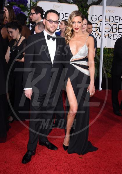 Katie Cassidy - Beverly Hills - 11-01-2015 - Golden Globe 2015: va in scena il gioco delle coppie