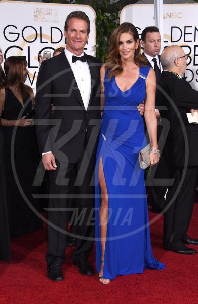 Rande Gerber, Cindy Crawford - Beverly Hills - 12-01-2015 - Golden Globe 2015: va in scena il gioco delle coppie