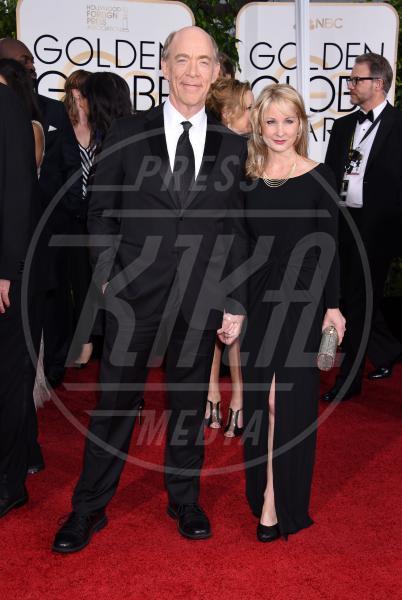 J.K. Simmons - Beverly Hills - 11-01-2015 - Golden Globe 2015: va in scena il gioco delle coppie