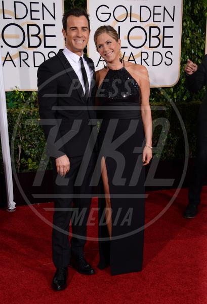 Justin Theroux, Jennifer Aniston - Beverly Hills - 11-01-2015 - Golden Globe 2015: va in scena il gioco delle coppie