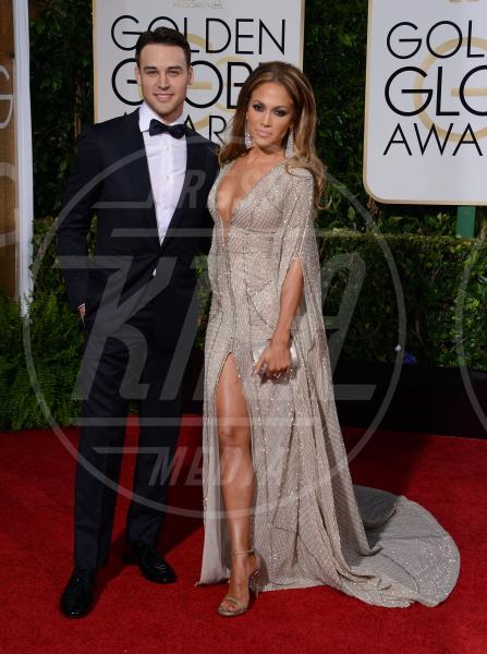Ryan Guzman, Jennifer Lopez - Beverly Hills - 11-01-2015 - Golden Globe 2015: va in scena il gioco delle coppie