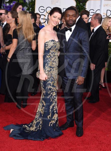 Jessica Oyelowo, David Oleyowo - Beverly Hills - 11-01-2015 - Golden Globe 2015: va in scena il gioco delle coppie