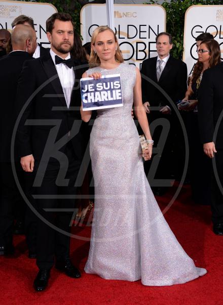 Diane Kruger, Joshua Jackson - Beverly Hills - 11-01-2015 - Golden Globe 2015: va in scena il gioco delle coppie