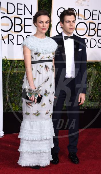 Keira Knightley - Beverly Hills - 11-01-2015 - Golden Globe 2015: va in scena il gioco delle coppie
