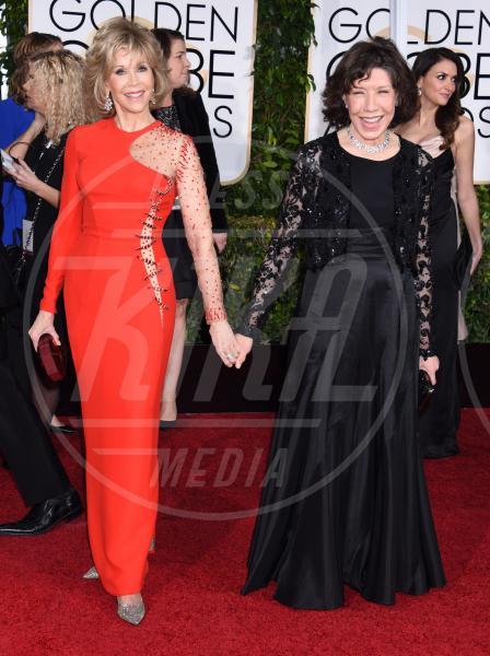 Jane Fonda, Lily Tomlin - Beverly Hills - 11-01-2015 - Golden Globe 2015: va in scena il gioco delle coppie