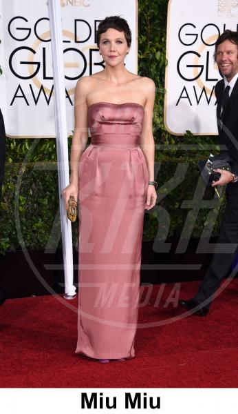 Maggie Gyllenhaal - Beverly Hills - 11-01-2015 - Golden Globe 2015: gli stilisti sul red carpet