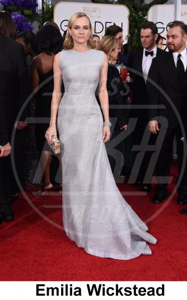 Diane Kruger - Beverly Hills - 11-01-2015 - Golden Globe 2015: gli stilisti sul red carpet