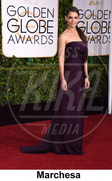 Katie Holmes - Beverly Hills - 11-01-2015 - Golden Globe 2015: gli stilisti sul red carpet