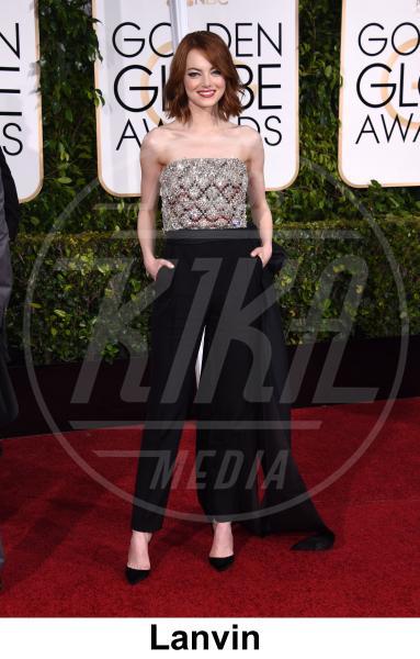 Emma Stone - Beverly Hills - 11-01-2015 - Emma Stone ha già vinto l'Oscar dell'eleganza!