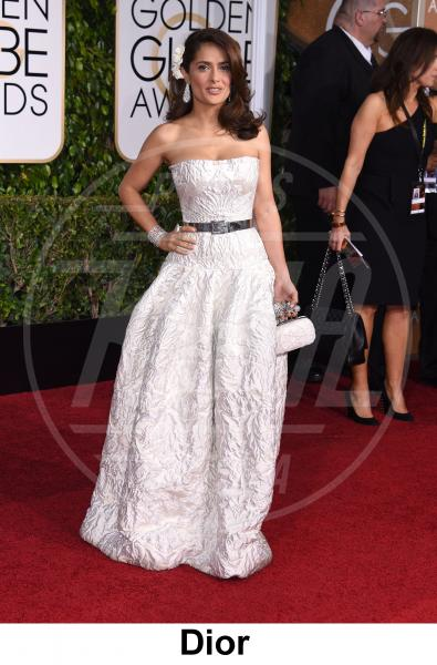 Salma Hayek - Beverly Hills - 11-01-2015 - Golden Globe 2015: gli stilisti sul red carpet