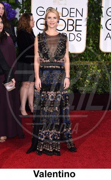 Claire Danes - Beverly Hills - 11-01-2015 - Golden Globe 2015: gli stilisti sul red carpet