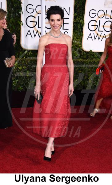 Julianna Margulies - Beverly Hills - 11-01-2015 - Golden Globe 2015: gli stilisti sul red carpet