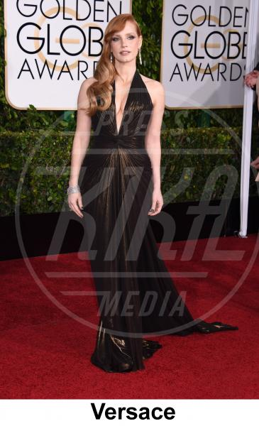 Jessica Chastain - Beverly Hills - 11-01-2015 - Golden Globe 2015: gli stilisti sul red carpet