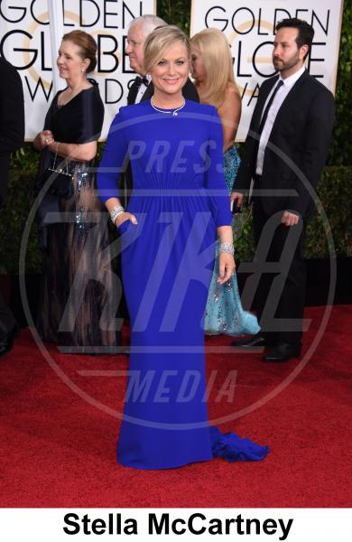 Amy Poehler - Beverly Hills - 11-01-2015 - Golden Globe 2015: gli stilisti sul red carpet