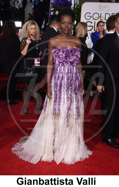Lupita Nyong'o - Beverly Hills - 11-01-2015 - Golden Globe 2015: gli stilisti sul red carpet