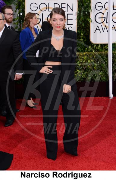 Lorde - Beverly Hills - 11-01-2015 - Golden Globe 2015: gli stilisti sul red carpet